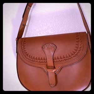 Lucky Brand Addie Leather Shoulder Bag